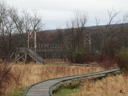 Pochuck Creek Suspension Bridge