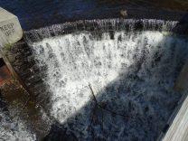 dam waterfall