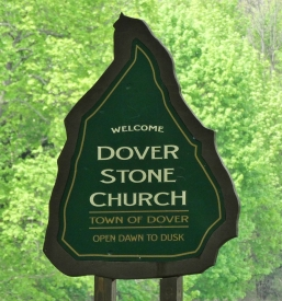 Dover Stone Church sign