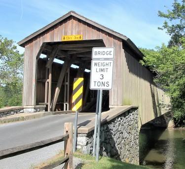Hunsecker's Mill Covered Bridge
