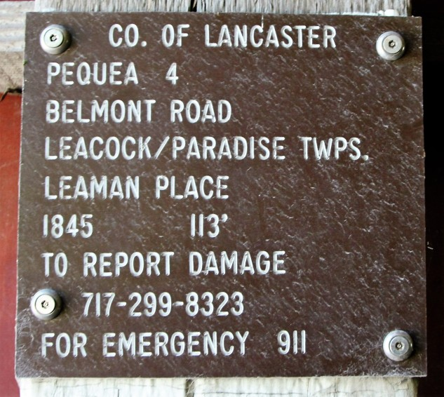 Leaman Place Covered Bridge