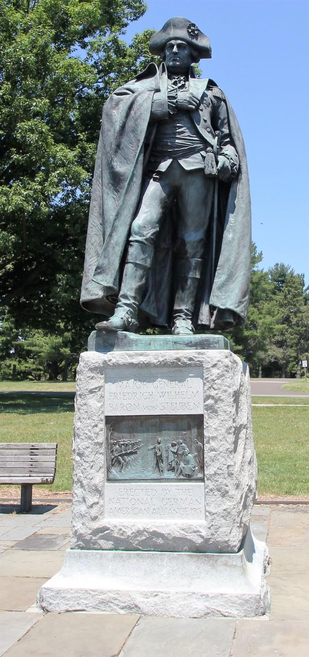 Baron von Steuben Statue