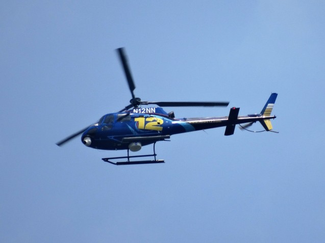 News 12 helicopter