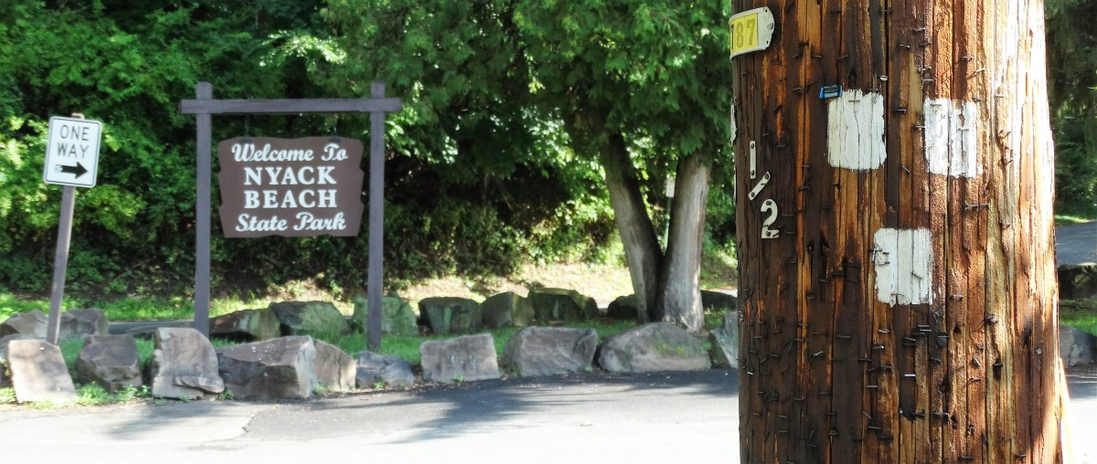 Nyack Beach State Park - Upper Nyack Trail