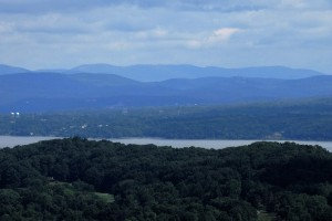 View from the summit of Hook Mountain