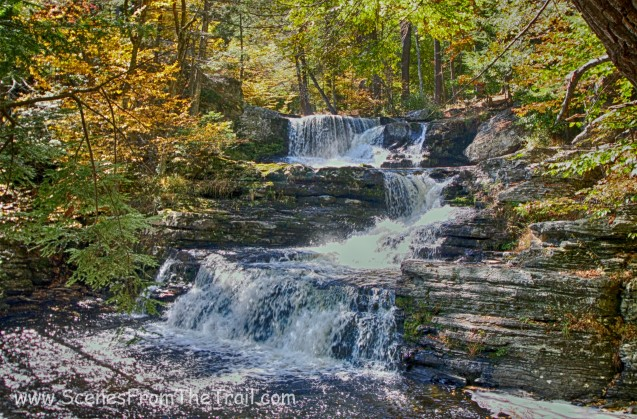 Factory Falls - George W. Childs Recreation Site October 10, 2015