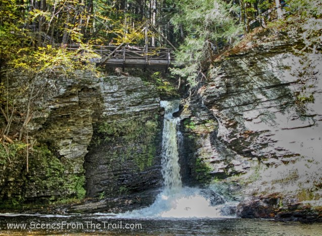 Deer Leap Falls - October 10, 2015