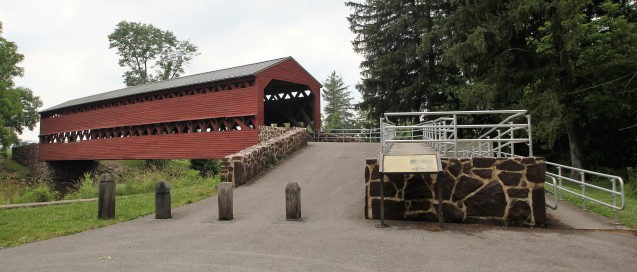 Saucks Covered Bridge