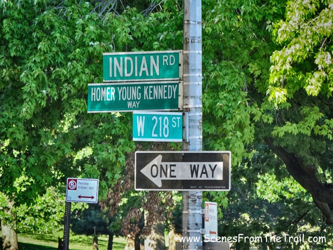 218th Street and Indian Road