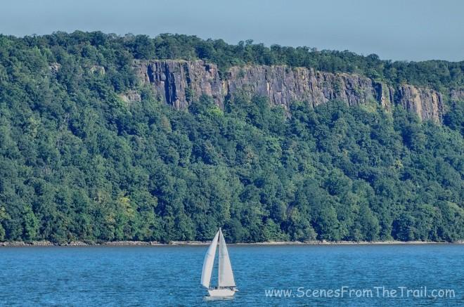 Hudson River and the Palisades