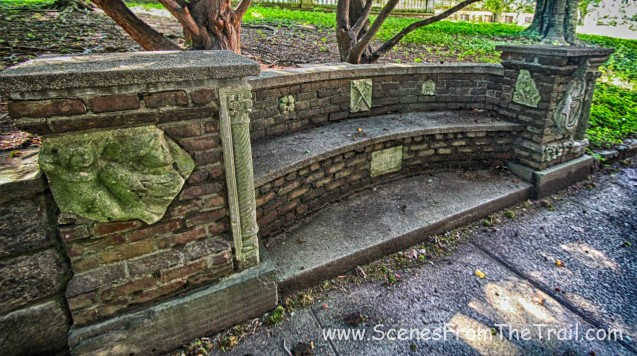 built in bench