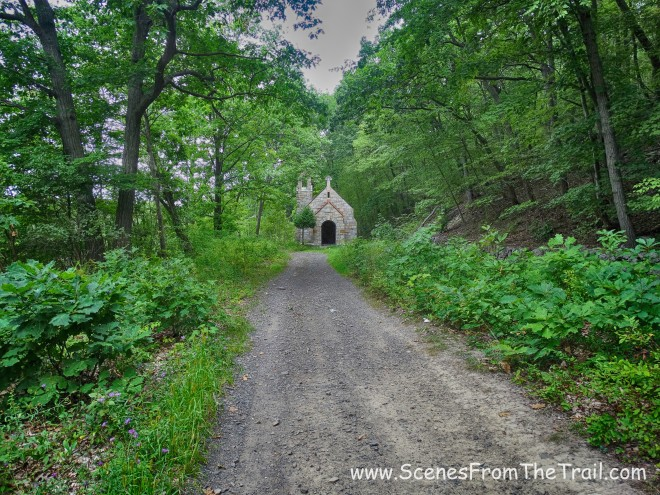 road to the chapel