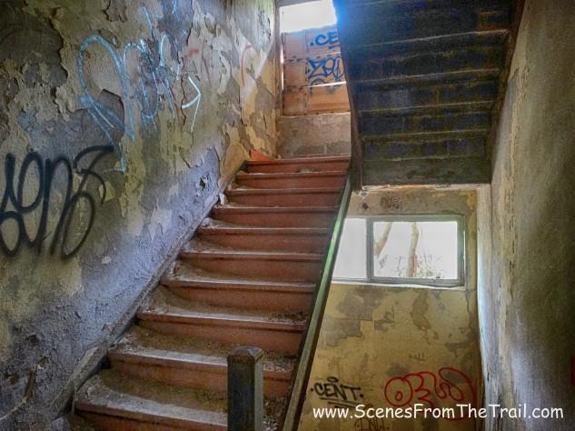 Jennie G. wing - stairwell