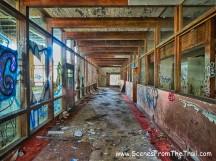 indoor pool corridor