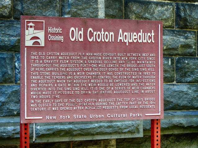Old Croton Aqueduct - Ossining Weir Chamber
