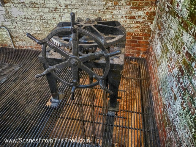 effluent valve wheel