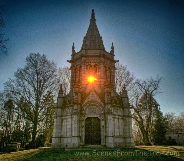 John Harbeck mausoleum - December 28, 2013