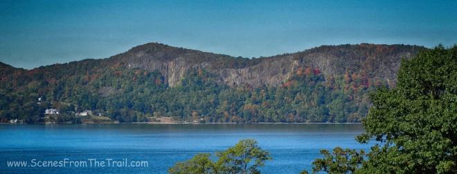 Palisades and the Hudson River