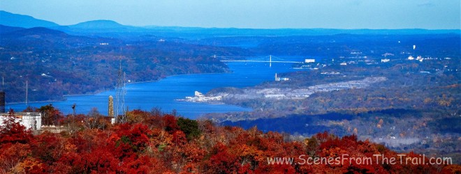 view from the Mount Beacon Fire Tower