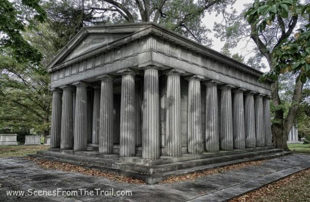 columned mausoleum