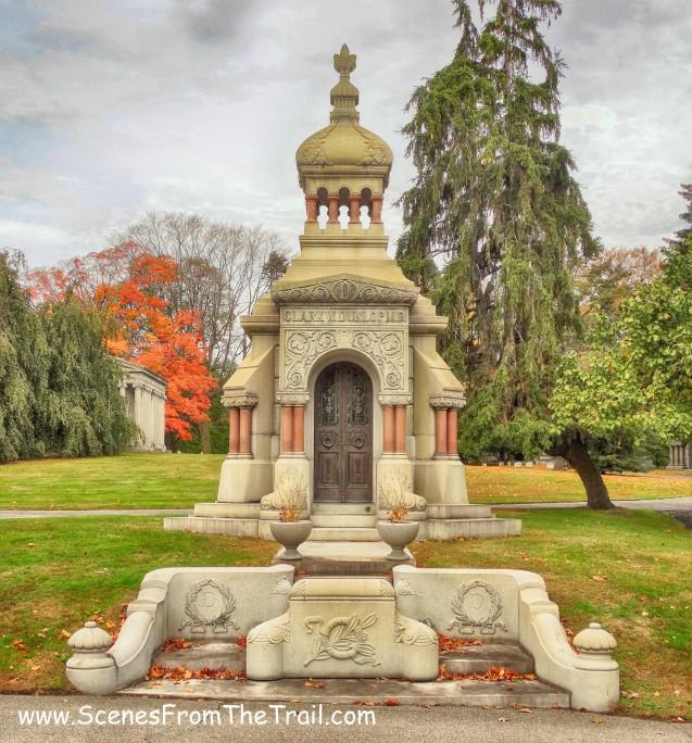 Clark W. Dunlop M.D. mausoleum