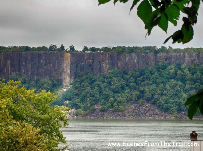 Palisades cliffs