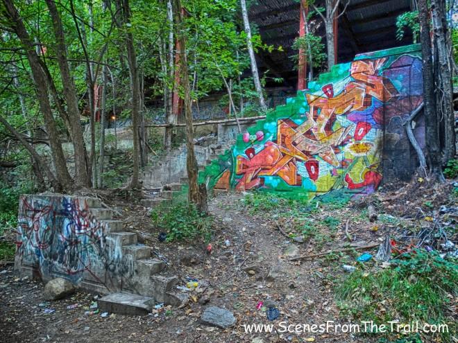 staircase ruins