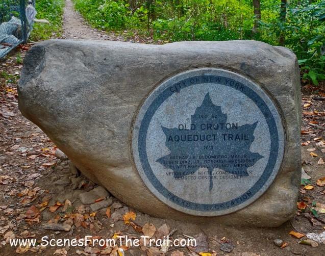 NYC Parks boundary marker