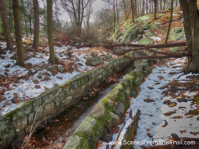 stone spillway