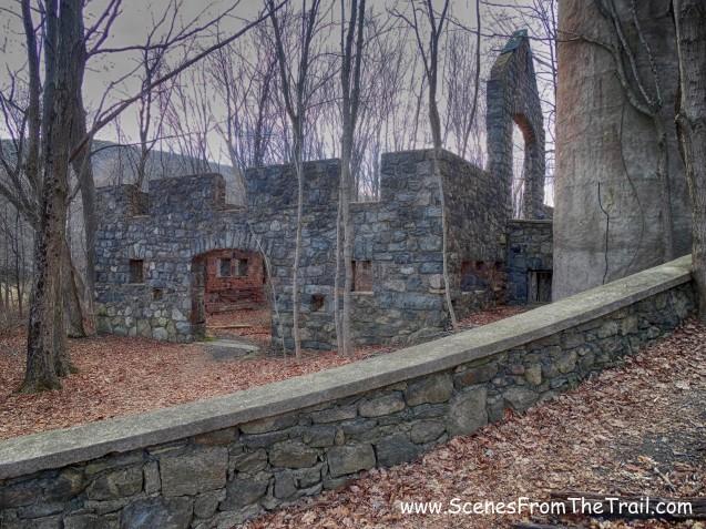 stone cattle barn