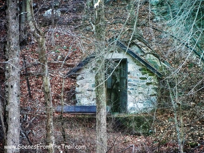 small stone building