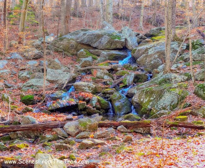 cascade - red-blazed Waterfall Trail