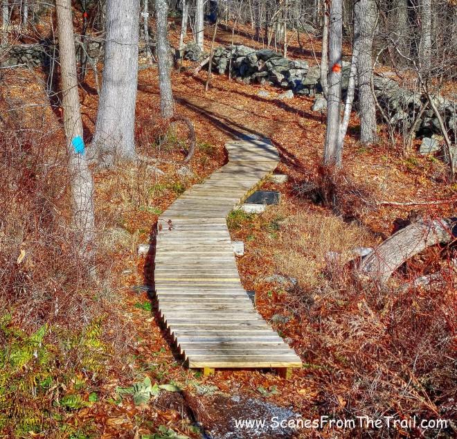 green-blazed Briarcliff-Peekskill Trail