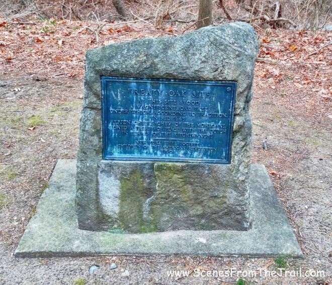 Treaty Oak Monument