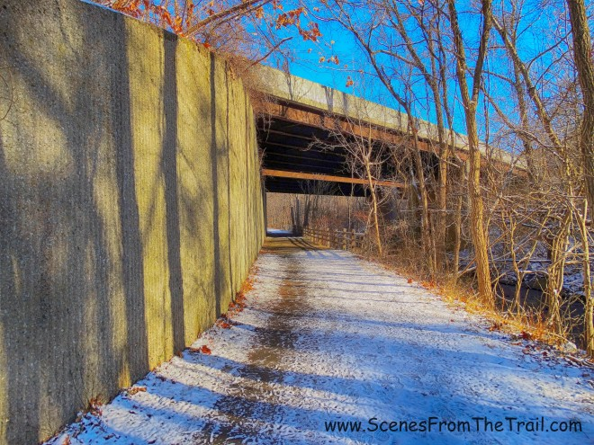 Route 117 overpass