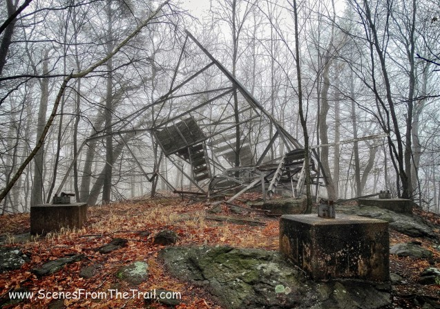 Nelson Mountain Fire Tower