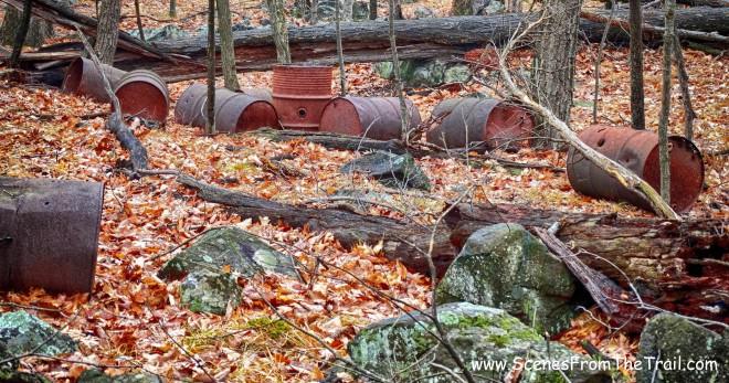 steel barrels