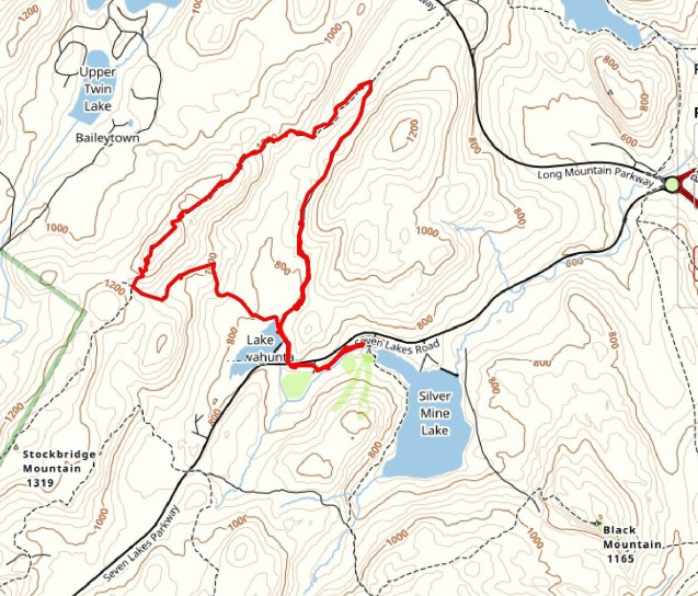 Hike route