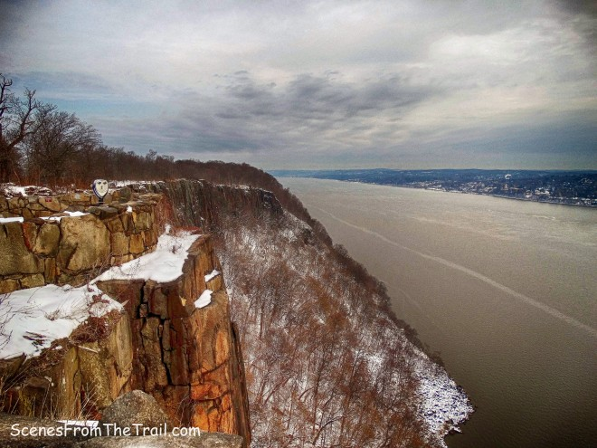 view north up the Hudson