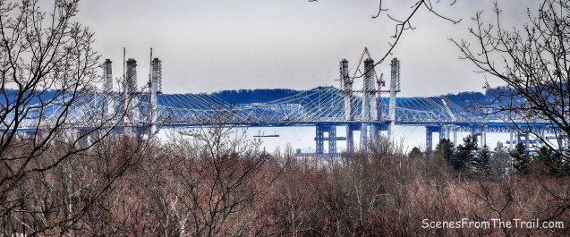 old and new Tappan Zee Bridges