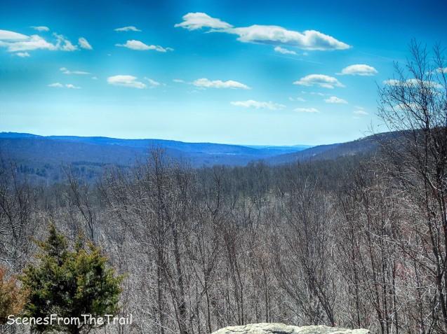 view from Ridge Overlook