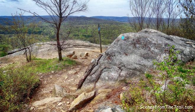 blue-blazed Timp-Torne Trail