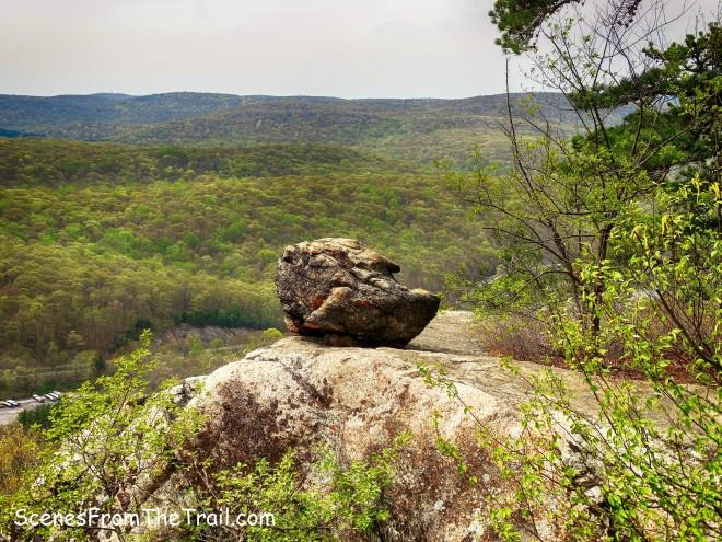 strange looking boulder