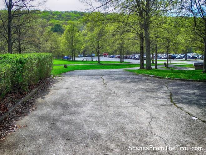 Anthony Wayne parking area