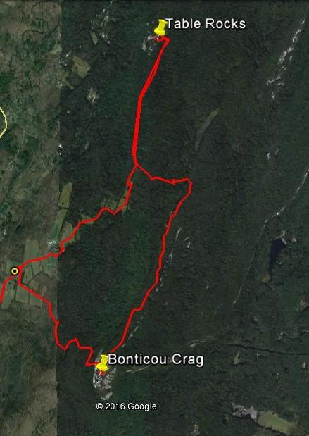 Bonticou Crag and Table Rocks