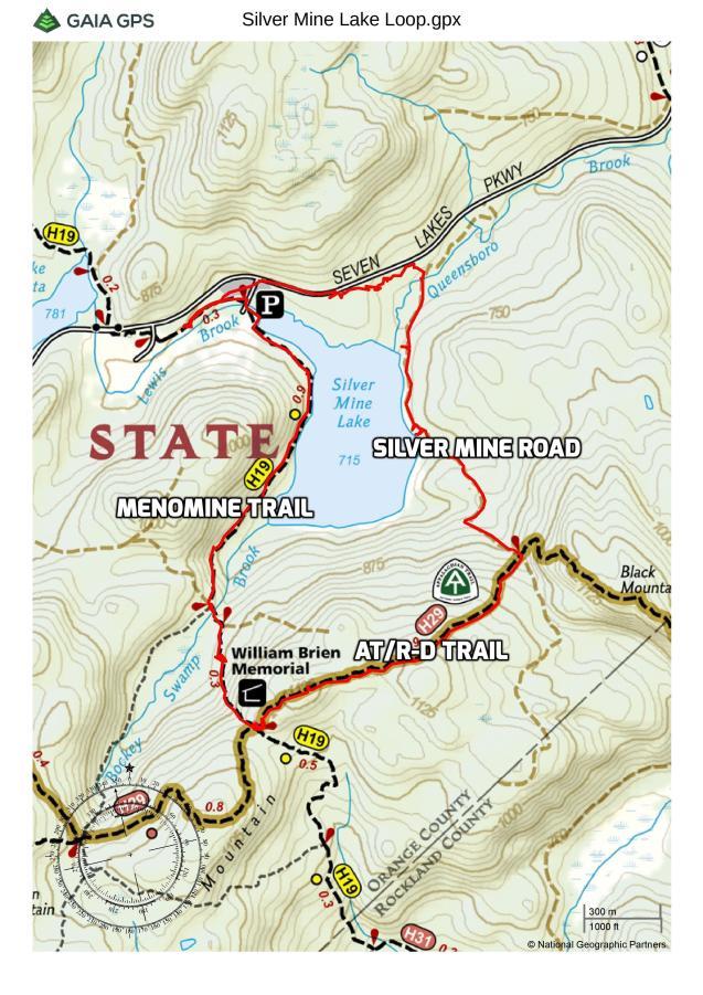 Silver Mine Lake Loop