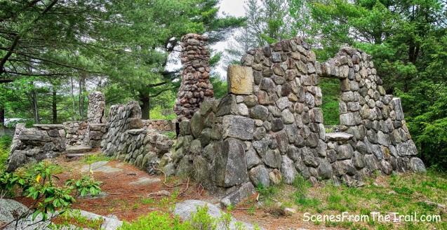 stone cabin ruins