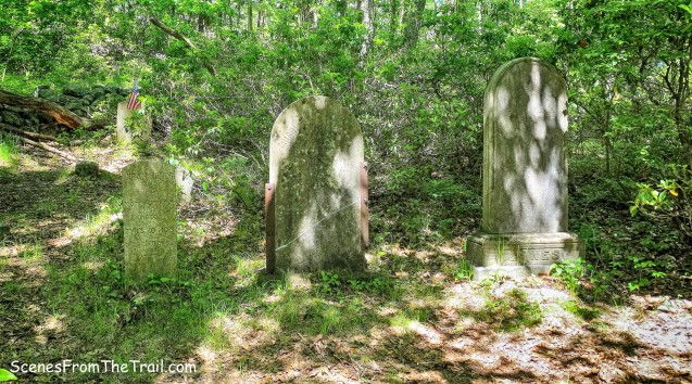 cemetery along the Beech Trail