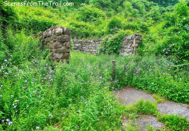 Doodletown ruins