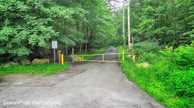 gate on Call Hollow Road